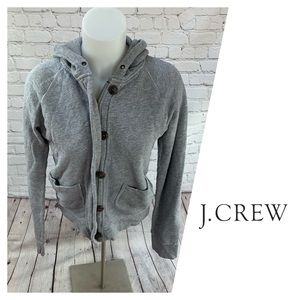 J. Crew Vintage French Terry Hooded Sweatshirt